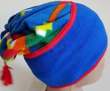 Fancy Conte of Florence Cappello Beanie Multi in Pile Vintage Winter  Festival Natale POM 80f769496351