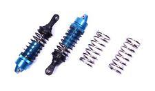 Racers Edge - Revo Aluminum 100mm Adjustable Shocks (pr.) - Blue