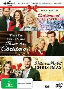 HALLMARK CHRISTMAS 3 Film Collection (Reg 4) DVD At Dollywood Picture a Perfect