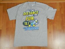 CHAMPION Disney world Donald Duck 2013 1/2 Marathon t-shirt Run Size Medium