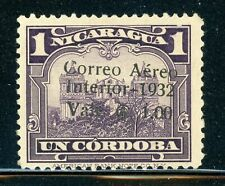 NICARAGUA MNG Selections: MAXWELL #A69 1C/1C Violet Cathedral $$$