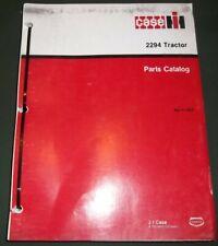 Case 2294 Tractor Parts Manual Book Catalog