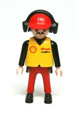 Playmobil Figure Indy Nascar Racing Race Car Mechanic Pit Crew Headphones 3289