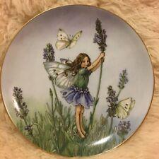 Lavender Flower Fairy Ciecely Mary Barker Plate Heinrich Germany VilleroyBoch