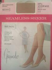 Penny's Seamless Sheer 10 1/2 Long Nylon Stockings