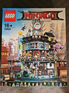 NEW SEALED Lego Ninjago Movie 70620 NINJAGO City FREE SHIPPING