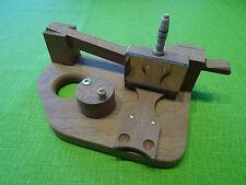 Schnupfmaschine aus Mahagoniholz, Handarbeit