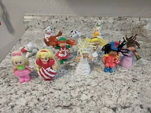 Lot of 11 McDonald's Happy Meal 101 Dalmatians  Cabbage Patch Christmas Toys