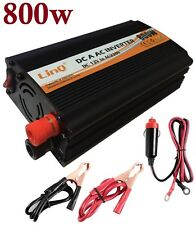 Convertisseur Courant Voiture 12V Dc A 220V AC 800W USB Or