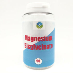 Magnesium Bisglycinate 500mg Strongest UK Vegan Safe High Strength Muscle Sleep
