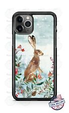 Bunny Rabbit Christmas Holiday Phone Case Cover For iPhone Samsung LG Google