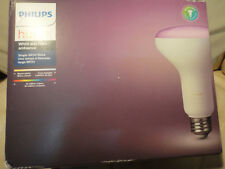 NEW PHILIPS HUE E26 WHITE and COLOR AMBIANCE 468942 SINGLE BR30 BULB 650 Lms