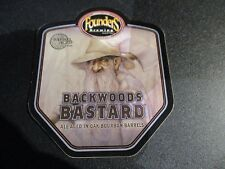 FOUNDERS BREWING Backwoods Bastard bourbon STICKER decal craft beer Brewery