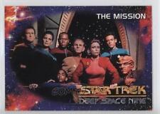 1993 SkyBox Star Trek Deep Space Nine #01 The Mission Non-Sports Card 6b1