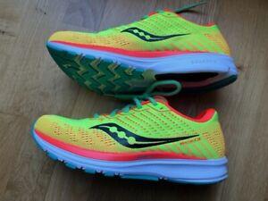 Saucony Mens Ride 13 Running Shoes Yellow UK7.5 (EU42)