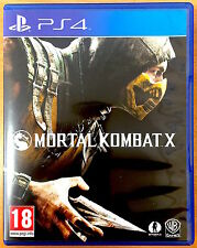 Mortal Kombat X - Playstation PS4 Games - Very Good Condition