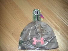 BUY ME~NWT~WOMENS~UNDER ARMOUR~SCENT CONTROL~INFRARED~FLEECE REAL TREE~BEANIE!