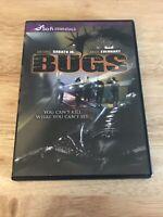 Bugs DVD Angie Everhart, Antonio Sabato Jr. Rare Horror Sci Fi OOP