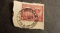 OLD SOUTH AUSTRALIAN FRAMED POSTMARK, ARDROSSAN 1945