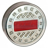 LED AUTOLAMPS MAXILAMP 1XRWE ROUND REAR REVERSE LIGHT LAMP 12V/24V