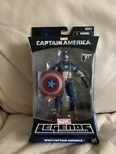 WW2 CAPTAIN AMERICA Marvel Legends Infinite Series - Hasbro (2013) NIB!
