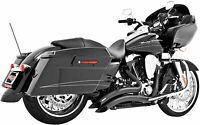 Freedom Performance Sharp Curve Radius Exhaust System Black HD00229