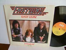 "Fastway - Easy Livin'  A13-3196  UK 12""  1st Press 1983 CBS   Motorhead  EX+"