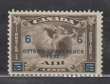 1932 #C4 6¢ ON 5¢ SURCHARGE KING GEORGE V AIR MAIL ISSUES F-VF