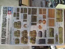 Tamiya Military Miniatures 1:35 Modern US Military Equipment Set