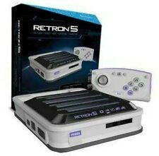 Hyperkin RetroN 5 Gaming Console Gray Model M01688-GR Sealed in Box New