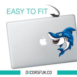 Amazing Blue Shark Laptop Vinyl Sticker | Car, Van, Bumper, wall art decals