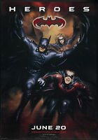 Batman and Robin Movie Giant Poster - A0 A1 A2 A3 A4 Sizes