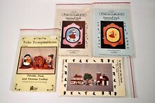4 Tole Painting Pattern Instruction Packets Piecemakers Provo Craft CLC Designs