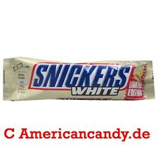 Snickers + White Chocolate: 10 x 1.72 Oz Limited Edition (18,35 €/ kg)