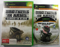 Brothers in Arms Earned In Blood Original Xbox MINT DISC