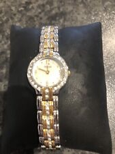 Gold, Silver Diamond Ladies Watch With Spare Pieces To Extend