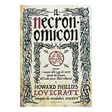 Necronomicon Howard P. Lovecraft Mondadori Copertina rigida
