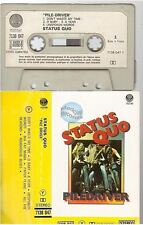 STATUS QUO cassette K7 tape PILE DRIVER france french 7138 047 paper label