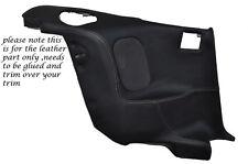 WHITE Stitch 2x posteriore porta carte in pelle copre Adatta Mitsubishi GTO 3000GT 92-99