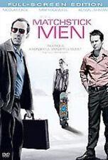Matchstick Men,(Dvd, 2004, Full S) Nicolas Cage, Sam Rockwell, Alison Lohman,
