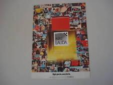 advertising Pubblicità 1978 COLOGNE NIKI LAUDA