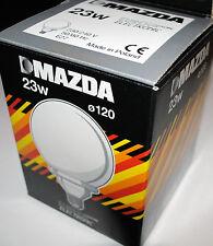ampoule MAZDA Eureka Globe ELECTRONIC 230/240v  23W E27 neuf
