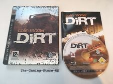 PS3-Colin McRae Dirt LIMITED COLLECTORS Steelbook Edition-COMPLET-UK Stock