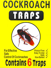 Cockroach Glue Traps Poison Free Killer Insects Ant Bug Flea Beetle Pest Control