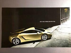 2008 Lamborghini Gallardo Coupe Print, Picture, Poster RARE!! Awesome L@@K