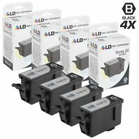 LD Compatible for Dell DW905 / N573F 4PK Black Ink Cartridges for P703W