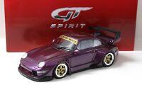 1:18 GT Spirit Porsche 911 (993) RWB RAUH-WELT purple NEW bei PREMIUM-MODELCARS