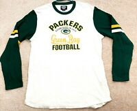 Green Bay Packers NFL Long Sleeve T-Shirt Men's Size XL White