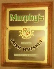 """Murphy's Irish Whiskey Mirror Sign 20 1/2 """" X 16 1/4 """""""