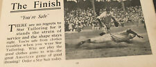 Ty Cobb Advertisement - Star Suits- Rare - Classic Image
